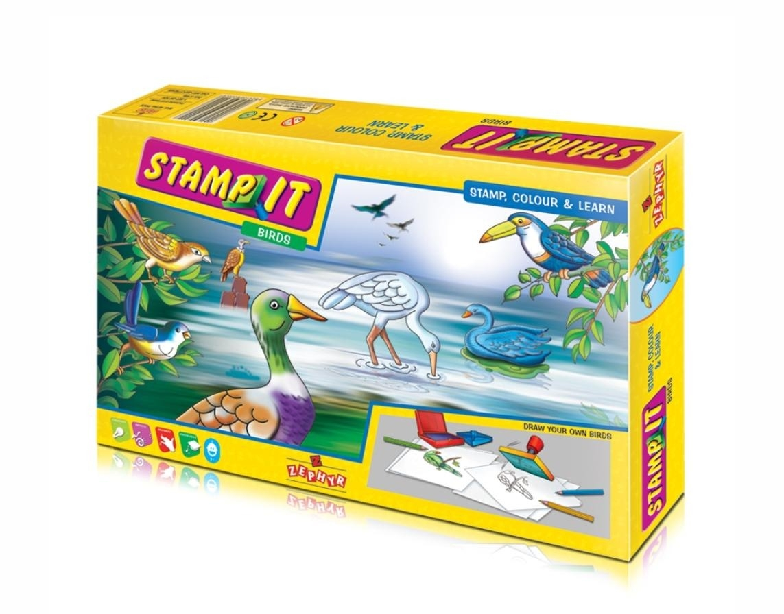 STAMP IT - BIRD